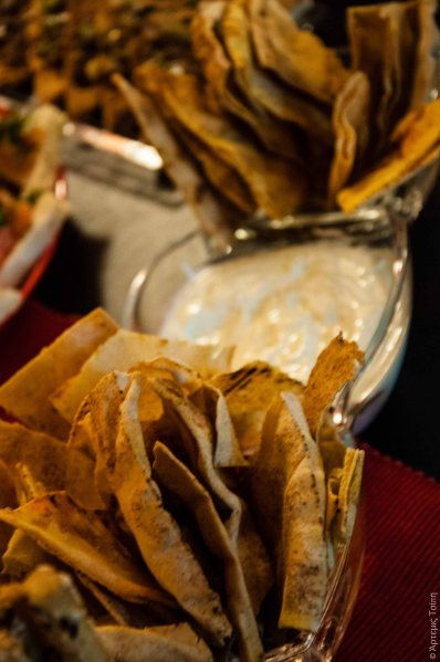 spicy arabic pita chips